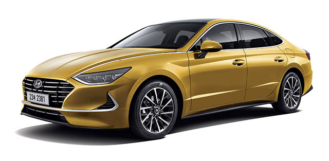 현대자동차 새로운 신형 쏘나타 공개 중소기업뉴스